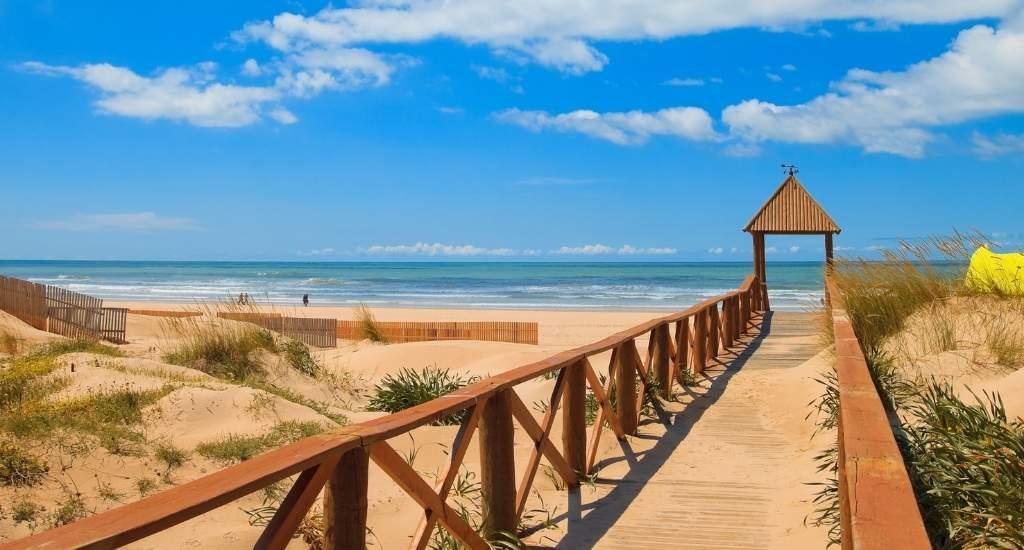 Strand Cadíz: Playa de la Cortadura | Mooistestedentrips.nl