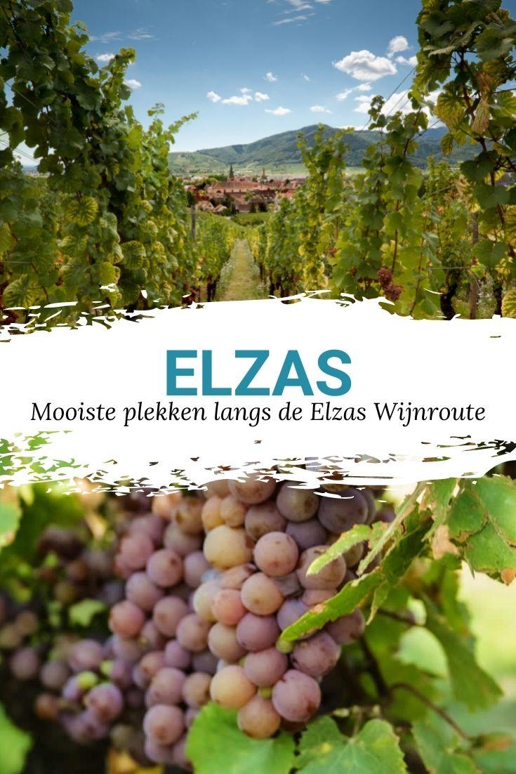 Elzas Wijnroute, de mooiste plekken langs de Elzas Wijnroute | Mooistestedentrips.nl