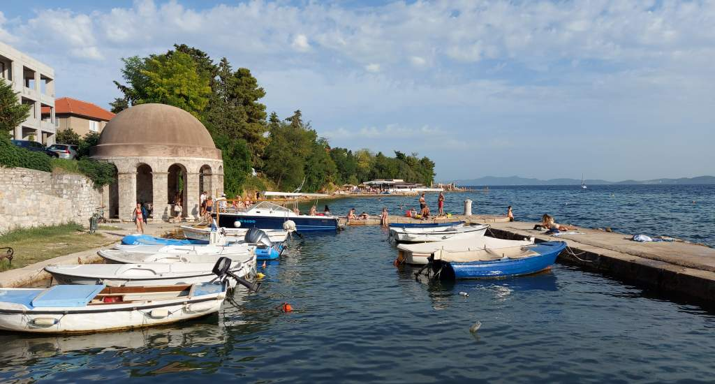 Stranden van Zadar, Kroatië   Mooistestedentrips.nl