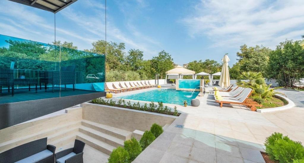 Hotel met zwembad in Zadar, Kroatië   Foto met dank aan Villa Morea   Mooistestedentrips.nl