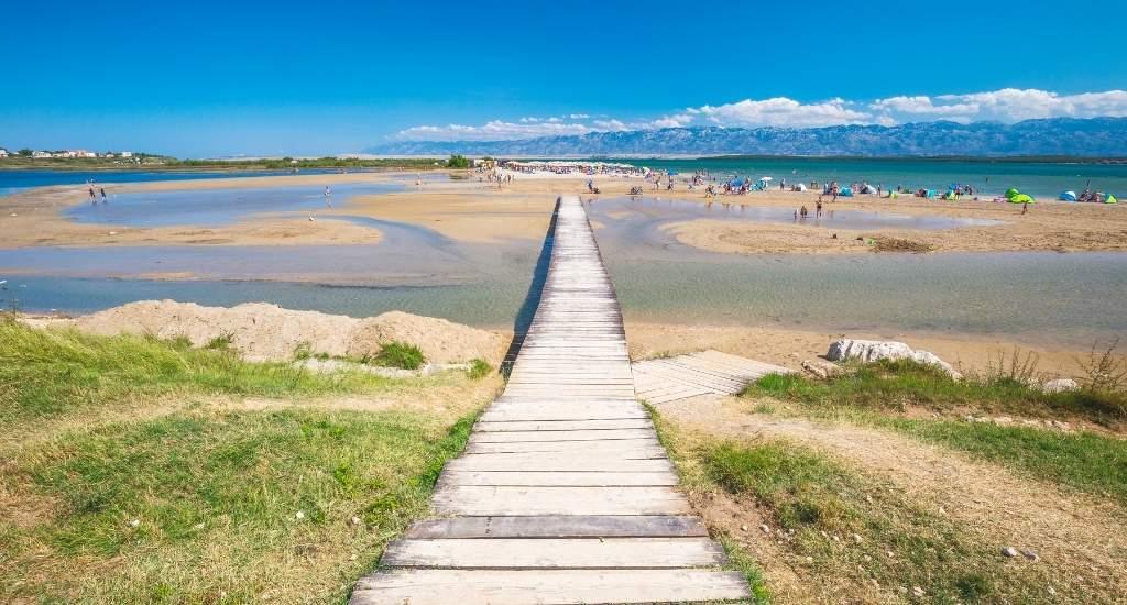 Stranden van Zadar, Queens Beach   Mooistestedentrips.nl