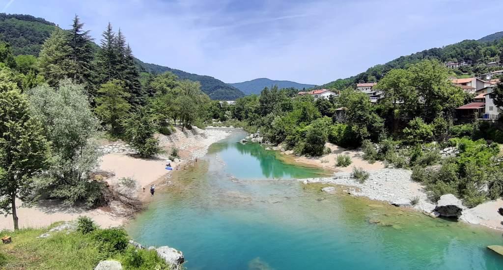 Slovenië bezienswaardigheden, Soča vallei   Mooistestedentrips.nl