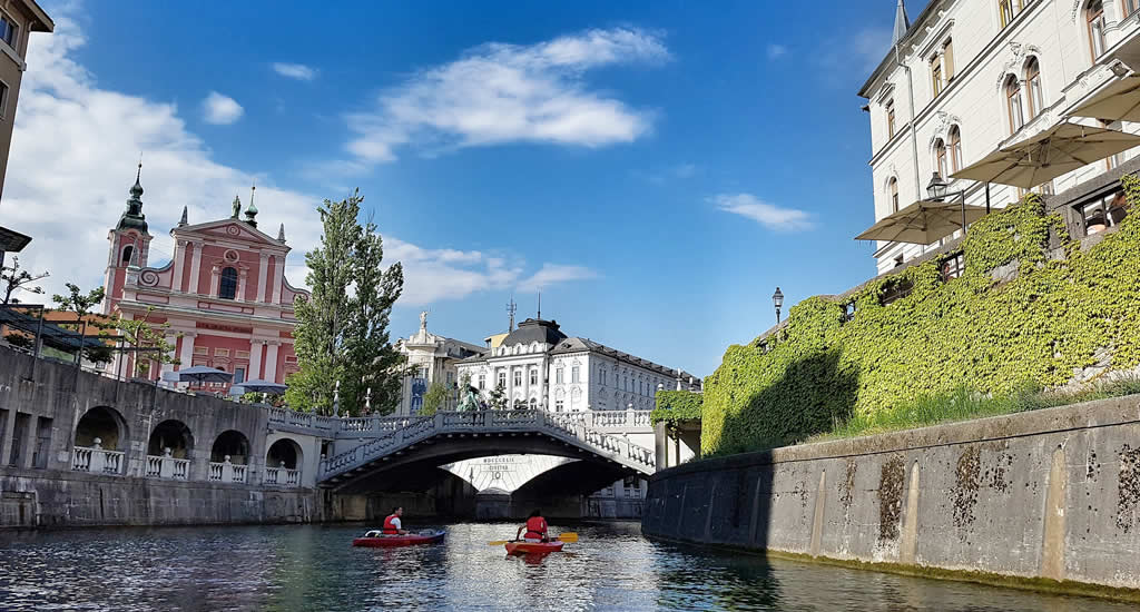Slovenië bezienswaardigheden: Ljubljana   Mooistestedentrips.nl