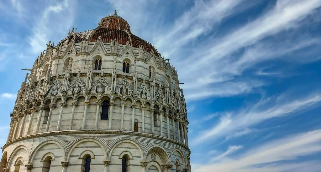 Pisa bezienswaardigheden: Battistero | Mooistestedentrips.nl