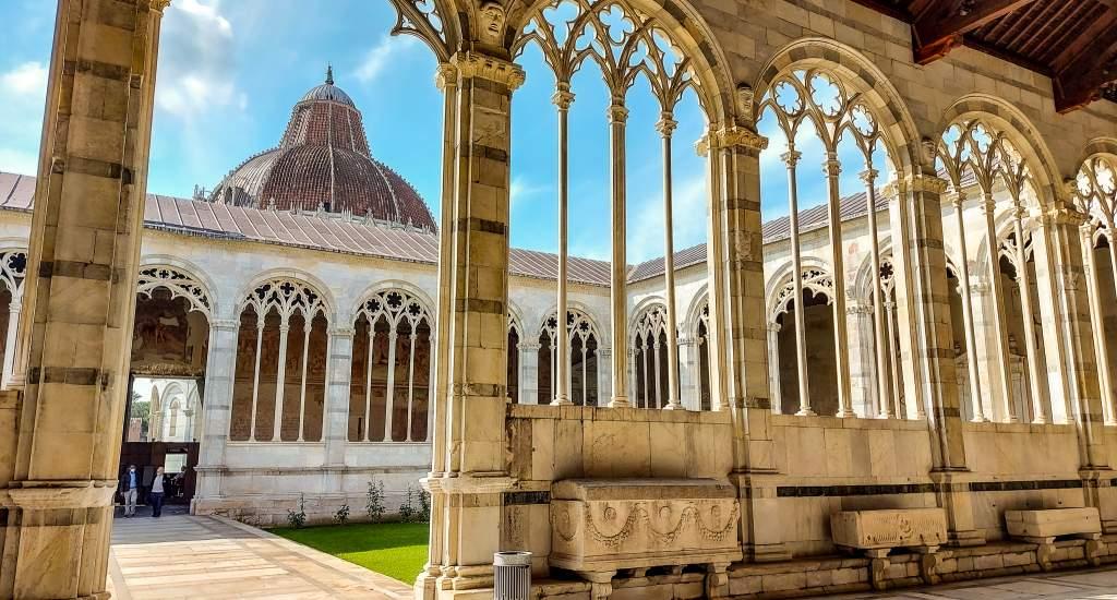 Pisa bezienswaardigheden: Camposanto | Mooistestedentrips.nl
