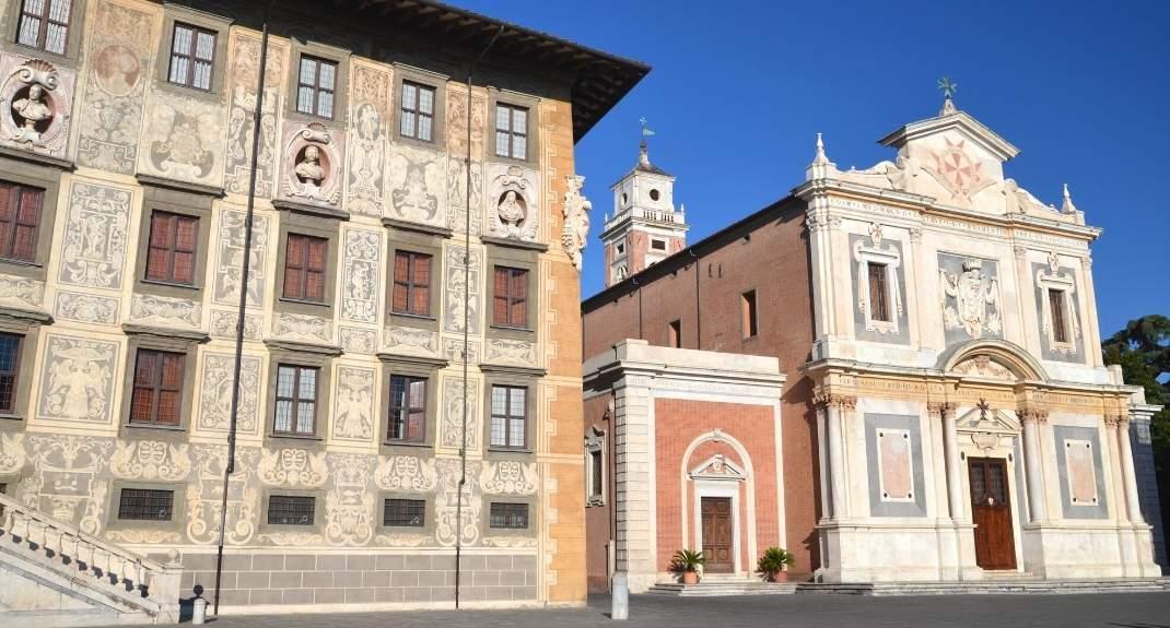 Pisa, Italië: Piazza dei Cavalieri | Mooistestedentrips.nl