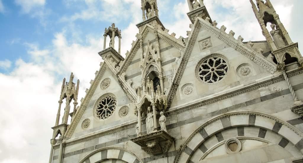 Pisa bezienswaardigheden: Chiesa di Santa Maria della Spina   Mooistestedentrips.nl