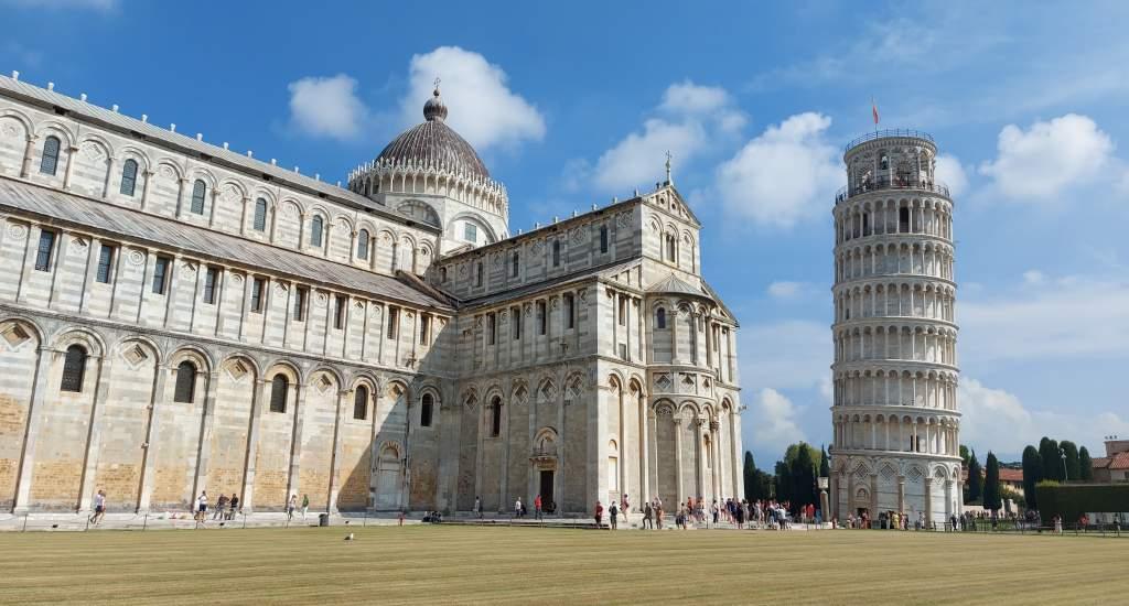 Pisa bezienswaardigheden: Piazza dei Miracoli   Mooistestedentrips.nl